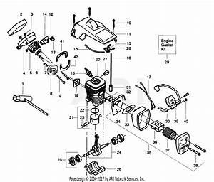 Poulan 2025 Gas Saw Parts Diagram For Internal Power Unit