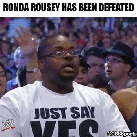 Rousey Memes - funniest ronda rousey memes after getting knocked out holly holm atlanta daily world