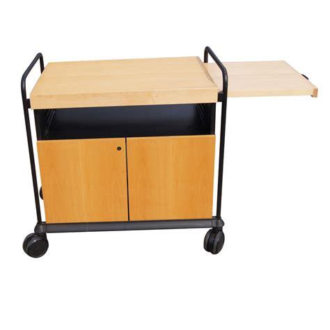 kitchen utility birch rolling cart cabinet  butcher