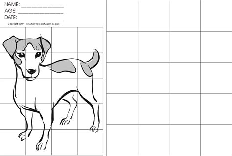 printable grid drawings worksheets for all and