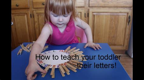 how to teach your toddler their letters matching 529 | maxresdefault