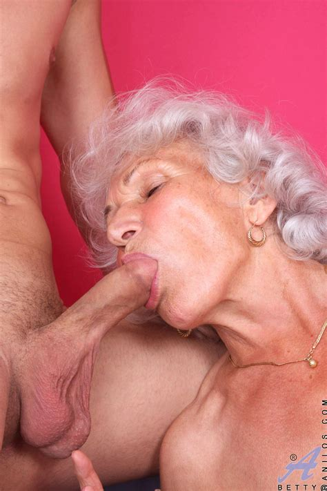 Classy Anilos Granny Betty Gets What She Wants As A Horny