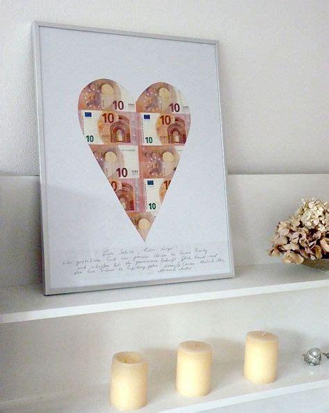 Geldgeschenk Basteln Passend Fuer Hochzeit Oder Geburtstag by Die Besten 25 Geld Verpacken Ideen Auf