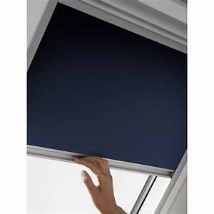 Moustiquaire Pour Fenêtre De Toit : store occultant velux sk06 bleu store pour fen tre de ~ Dailycaller-alerts.com Idées de Décoration