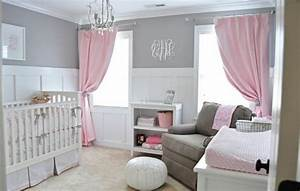 chambre bebe fille belle rose gris ma petite princesse With ambiance chambre bebe fille