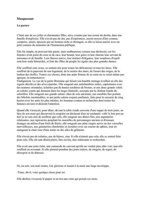 Calaméo - la parure de Guy De Maupassant