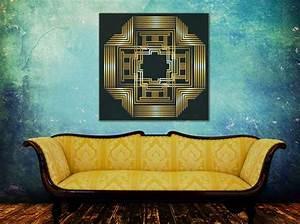 Art deco wall art wwwpixsharkcom images galleries for Art deco train interior