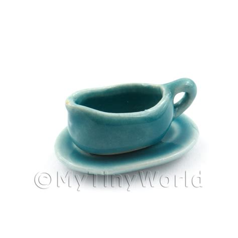 Very Gravy Boat by Dolls House Miniature Ceramics Dolls House Miniature