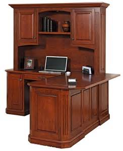 buckingham corner desk with optional hutch top from dutchcrafters
