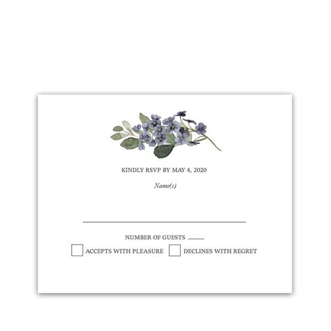 Maybe you would like to learn more about one of these? Wedding Response Cards Watercolor Greenery Garden Blooms