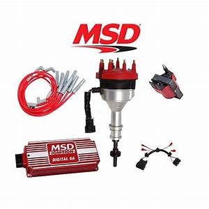 Msd Ignition Kit  Distributor  Wires  Coil