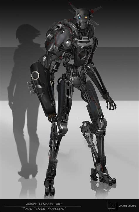 robot concept art ideas  pinterest