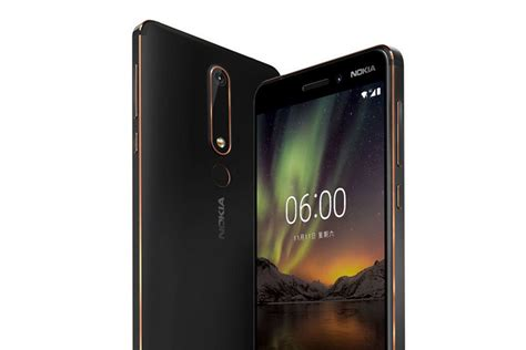nokia 6 1 running android one now comes with a 35 gift if