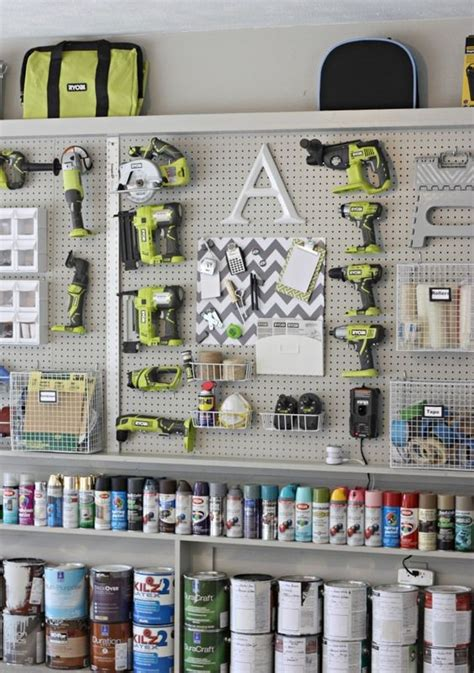 pegboard tool organization ideas picture of pegboard tool storage