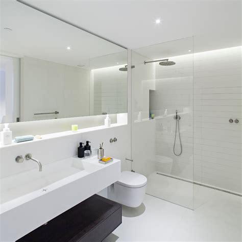 Narrow Rectangular Living Room Layout by St Martin S Lofts Scandinavian Bathroom London By