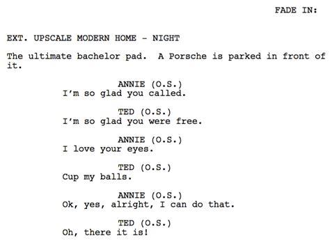 Original Screenplay Outline Examples (pdf)