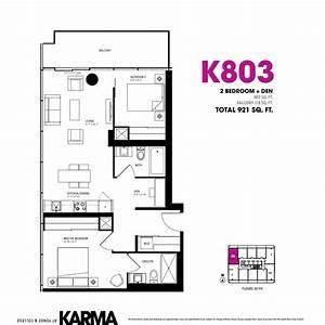 2, Bedroom, Condo, Floor, Plans