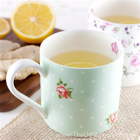 how to make fresh tea how to make fresh lemon ginger tea the unlikely baker