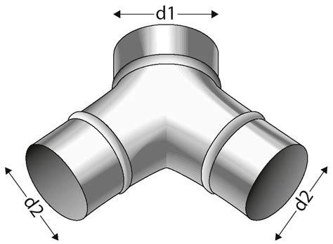 stahlrohr 38 mm außendurchmesser zweiweg verteiler