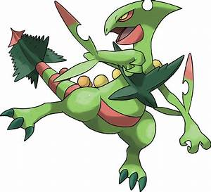 Mega Sceptile by TheAngryAron on DeviantArt