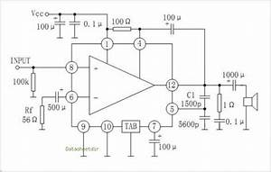 Tda810 Stereo Amplifier Circuit