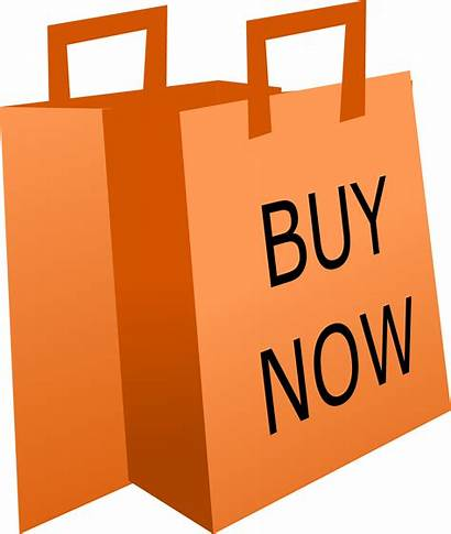 Shopping Bag Clipart Bags Impulse Buying Orange