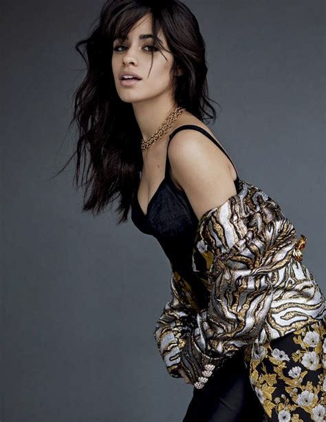 Camila Cabello Poses Luxe Looks For Vogue Mexico