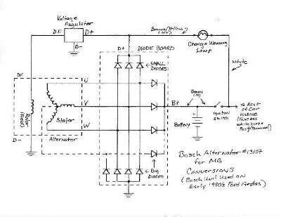 alternator wiring diagram vehicles diagram img schematic