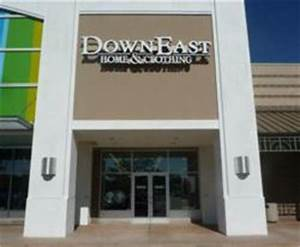 Downeast home clothing opens at jordan landing for Downeast home furniture outlet