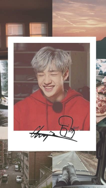 Fancy fonts or symbols then you add white images for dividers to add an aesthetic look and you have those squares. stray kids aesthetic edit | Tumblr
