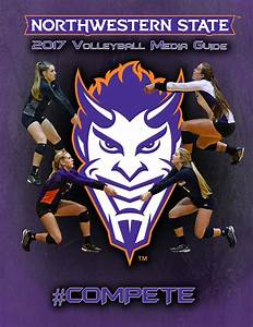 2017 Northwestern State Volleyball Media Guide by ...