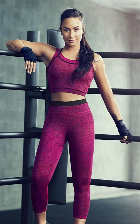 demi lovato fabletics workout  pure  ultra