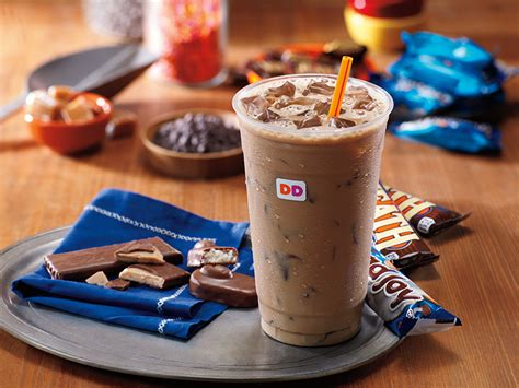 Warmer days are finally here, and with them comes iced coffee season. Dunkin' Donuts Introduces More Co-Branded Sugar Bombs With Almond Joy And Heath Coffees ...
