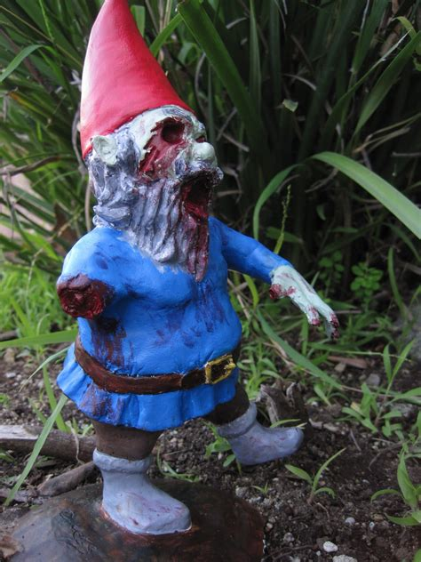 infect  home  flesh eating monster zombie gnomes
