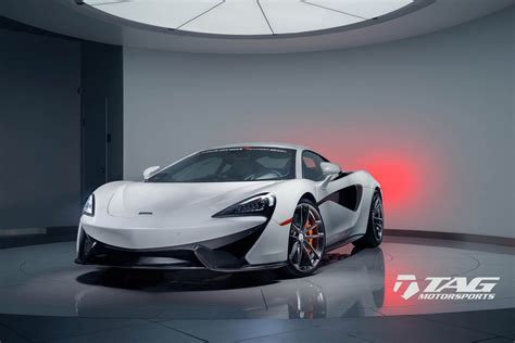 Mclaren 570s Flaunts Custom Wheels