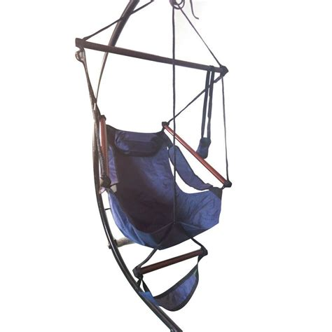 Hammock Swing Chair by Hammock Hanging Chair Air Deluxe Sky Swing Outdoor Chair