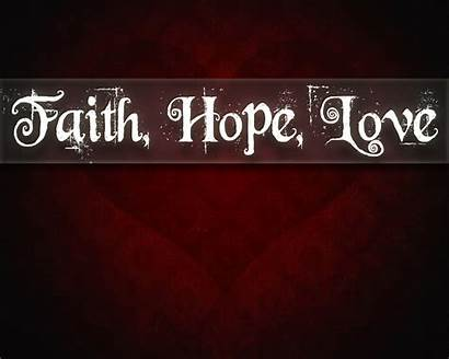 Faith Hope Inspirational Quotes Hillsong Heer Wallpapers