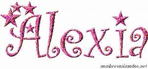 Nombre Animado Alexia estilo 0553