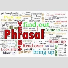 English Phrasal Verbs With Meaning And Examples