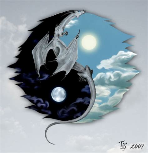 Cool Dragon Backgrounds For Computers That Move Yin Yang Dragon Dragonimages Net