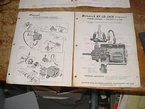 1960s  Monarch Hy Lo Jack Hydraulic Unit Brochure