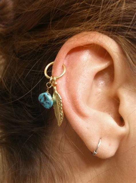 feather piercing pictures  images