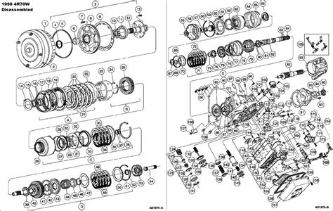 Cd4e Wiring Diagram by Ford Cd4e Transmission Exploded View
