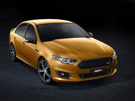 New Ford Falcon Xr8 Revealed Down Under Autoevolution