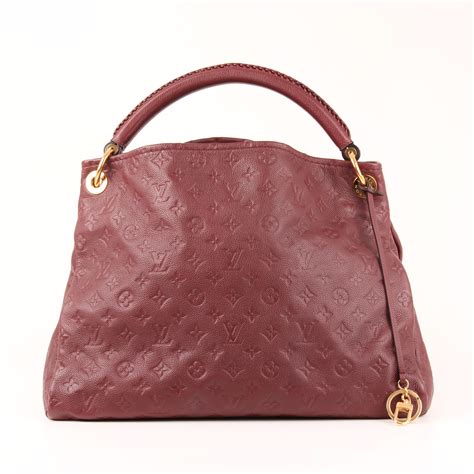 louis vuitton bag artsy mm empreinte monogram  cbl bags