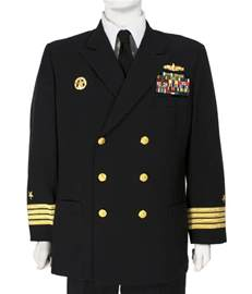 Navy Officer Dress Blue Uniform