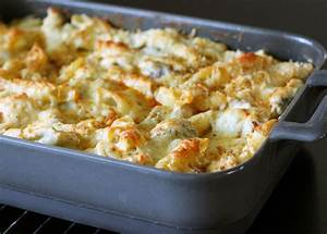 Chicken, Cheese, and Penne Pasta Bake Recipe