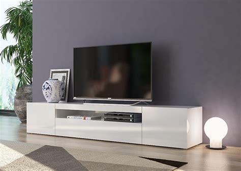 meuble tv gm daiquiri blanc brillant