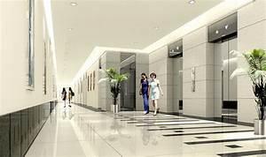 Modern Office Interior Design Inside Luxurious Lift Lobby ...