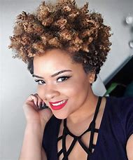 Tapered Natural Hairstyles for Short Hair